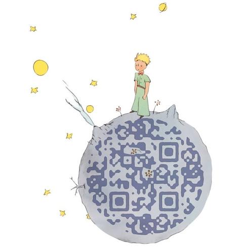 Den Lille Prins QR code