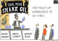 Social media snake oil