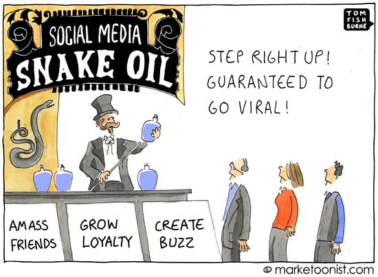 Social media snake oil - Anders Colding