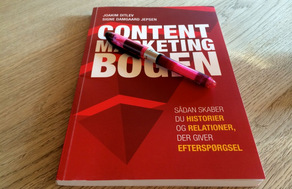 Content Marketing Bogen