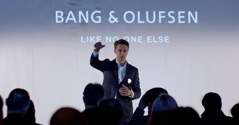 Mads Gorm Larsen Bang og Olufsen - Like no one else