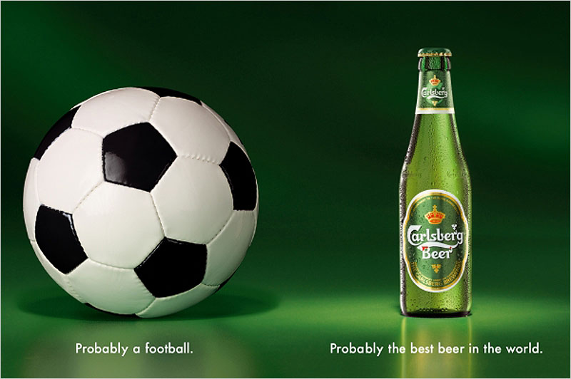 Carlsberg - Probably the best beer in the world