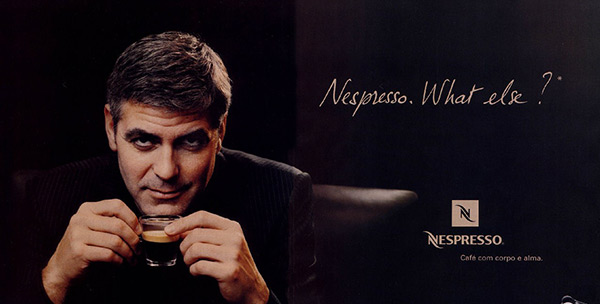 Nespresso. What else?
